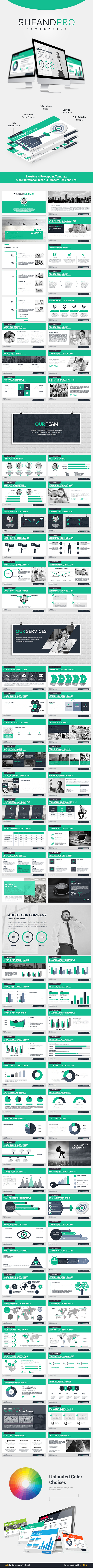 Sheandpro Powerpoint Template - Business PowerPoint Templates