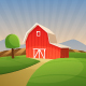 Red Farm Barn - GraphicRiver Item for Sale