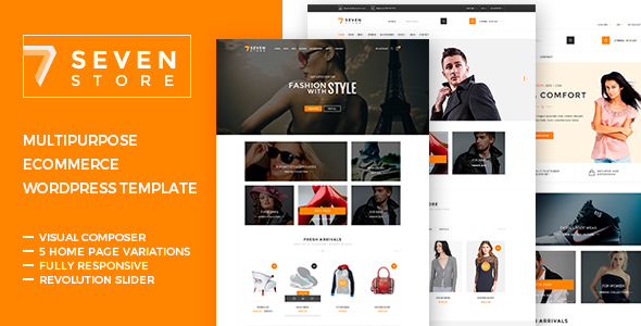 Seven Store – Ecommerce WordPress Theme