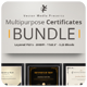 Multipurpose Certificates - Bundle - GraphicRiver Item for Sale