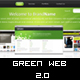 Clean & Professional - Green Web 2.0 - - ThemeForest Item for Sale