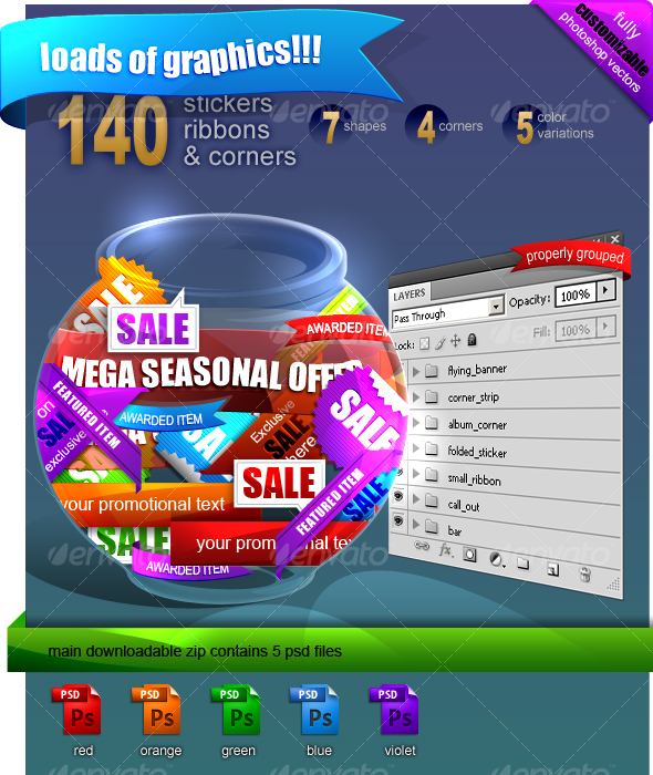 ultimate promo pack - Decorative Graphics
