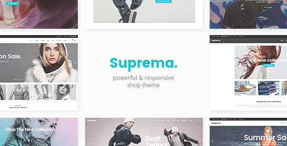 Suprema – Multipurpose eCommerce Theme
