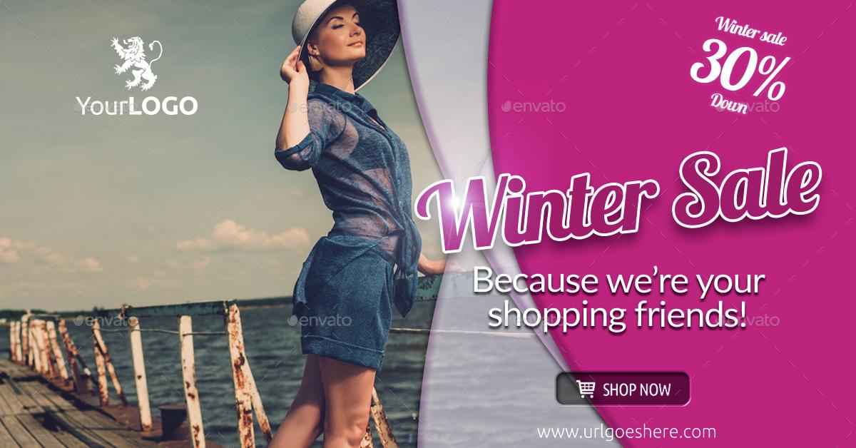 Fashion & Sale Web & Facebook Banners/Ads