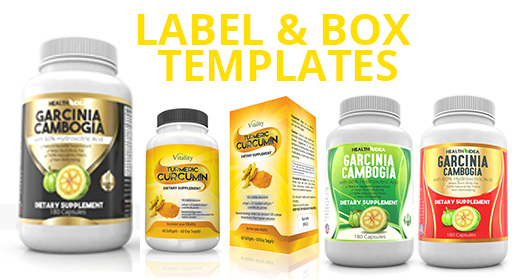 Label and Box Template