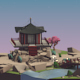 Japanese Garden & Temple - 3DOcean Item for Sale