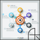 Modern Infographic Target Marketing Concept (4 Items) - GraphicRiver Item for Sale