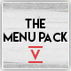 Menu Pack 5 - GraphicRiver Item for Sale