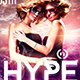Hype Electro Flyer | Psd Template - GraphicRiver Item for Sale
