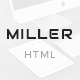 Miller - Multipurpose Responsive Template - ThemeForest Item for Sale