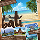 Travel Flyer + Business Card - GraphicRiver Item for Sale