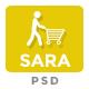 Sarashop - Ecommerce PSD Template - ThemeForest Item for Sale