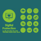 20 Digital Protection icons - GraphicRiver Item for Sale