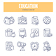 Education Doodle Icons - GraphicRiver Item for Sale