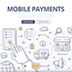 Mobile Payments Doodle Concept - GraphicRiver Item for Sale