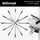 Boconcept Watch Me Wall Clock - 3DOcean Item for Sale
