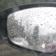 Rain Drops On The Rear View Mirror - VideoHive Item for Sale