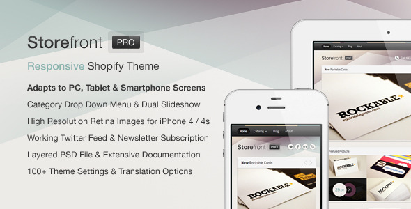 Free Download Storefront Pro for Shopify  Premium Theme Nulled Latest Version