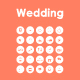 25 Wedding icons - GraphicRiver Item for Sale