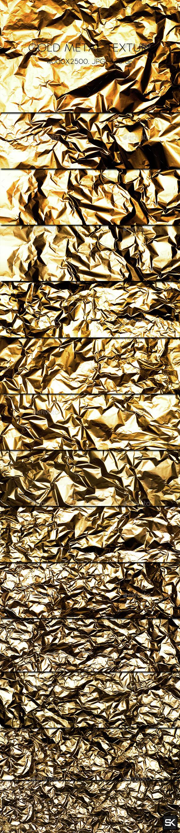 Gold Metal Texture - Metal Textures
