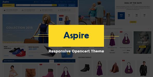 Aspire – Responsive OpenCart Theme