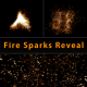 Fire Sparks Reveal - VideoHive Item for Sale