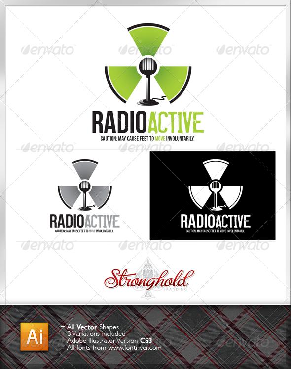 Radioactive Logo - Symbols Logo Templates