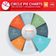 Circle Pie Chart Infographic Elements Design - GraphicRiver Item for Sale