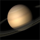 Saturn rotating planet - VideoHive Item for Sale