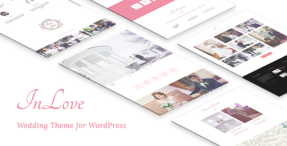 InLove - Wedding Theme for WordPress - Wedding WordPress
