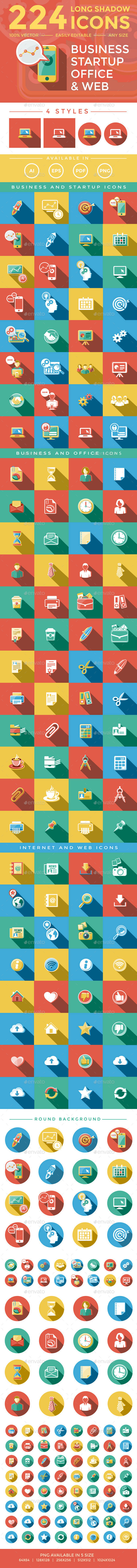 Business & Startup Icons - Business Icons