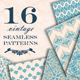 Vintage Seamless Patterns - GraphicRiver Item for Sale
