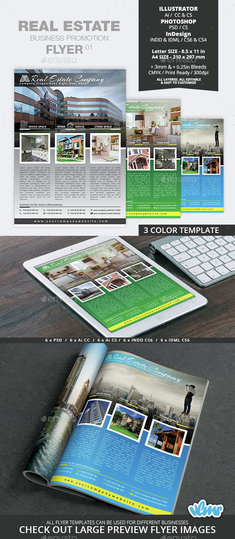 Real Estate Business Promotion Flyer 01 - Commerce Flyers