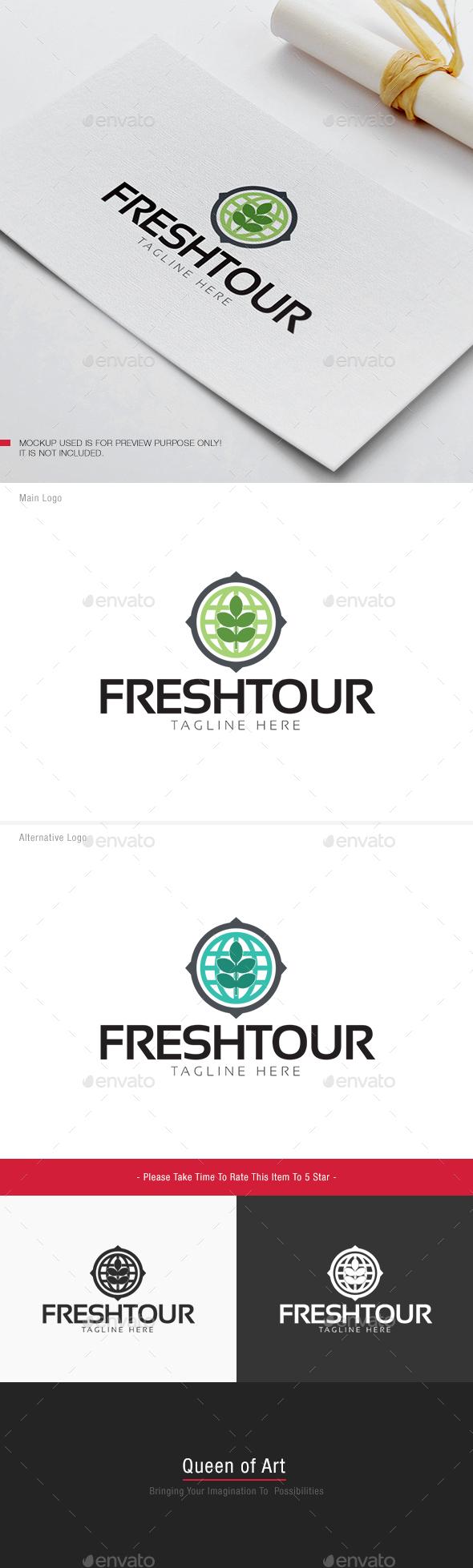 Fresh Tour Logo - Nature Logo Templates