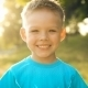 Portrait Of Smiling Boy On Sunset - VideoHive Item for Sale