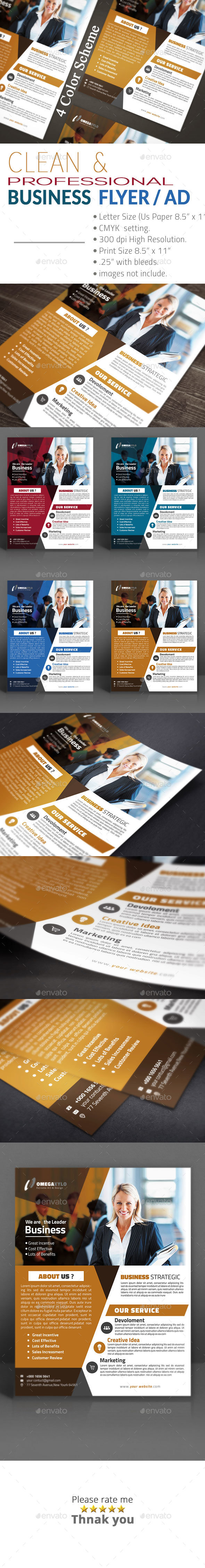 Corporate Business Flyer / Ad - Corporate Flyers