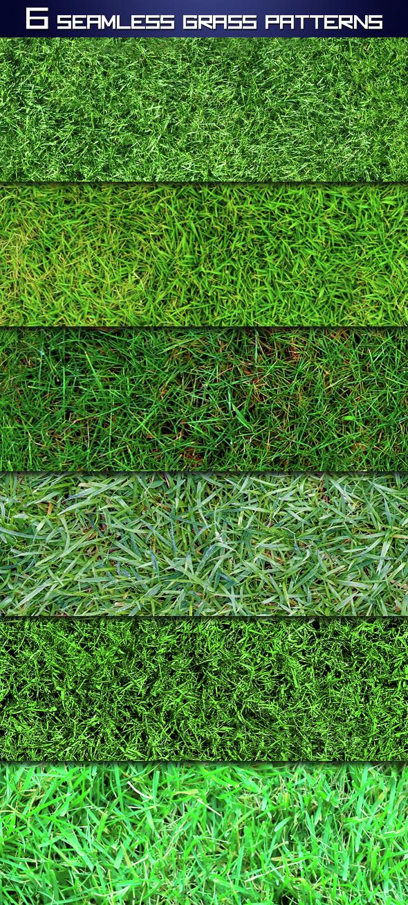Seamless Grass Patterns - Textures / Fills / Patterns Photoshop
