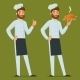 Chef with Roasted Chicken - GraphicRiver Item for Sale