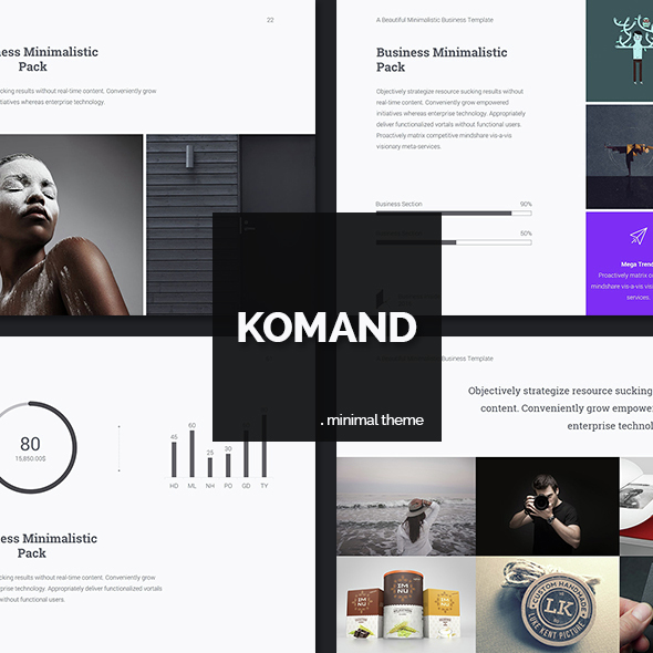 Komand Business Theme - Business PowerPoint Templates