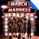 March Madnezz v1 Flyer Template - GraphicRiver Item for Sale