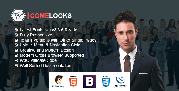 ComeLooks | Multipurpose Business HTML Template