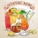 New Era Drinks Cocktail Menu - GraphicRiver Item for Sale