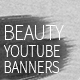 Beauty YouTube Channel Art - GraphicRiver Item for Sale