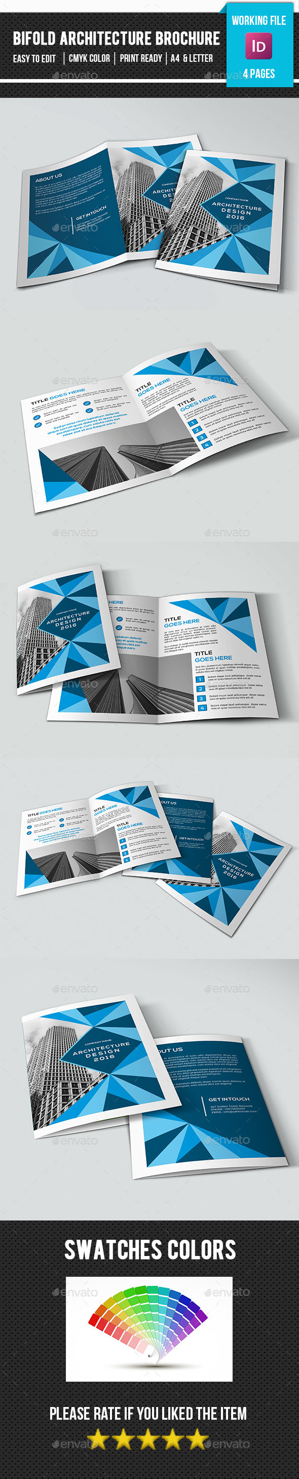 Business Bifold Brochure-V366 - Corporate Brochures