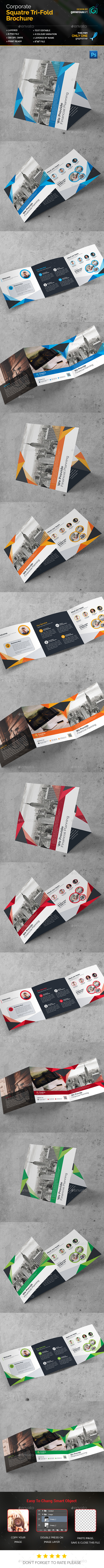 Pro_Square Tri-Fold Brochure - Corporate Brochures