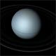 Uranus rotating planet - VideoHive Item for Sale