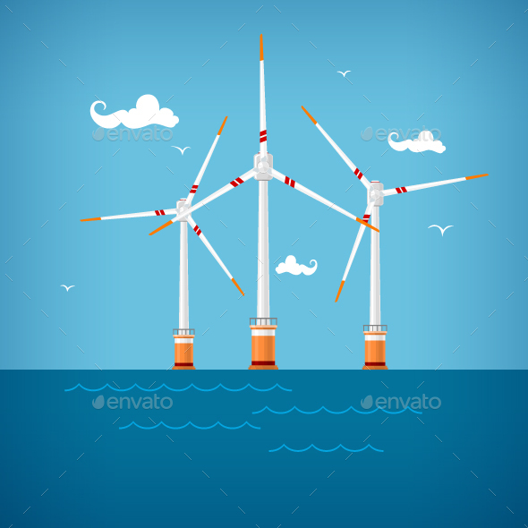 Wind Turbines in the Sea - Industries Business