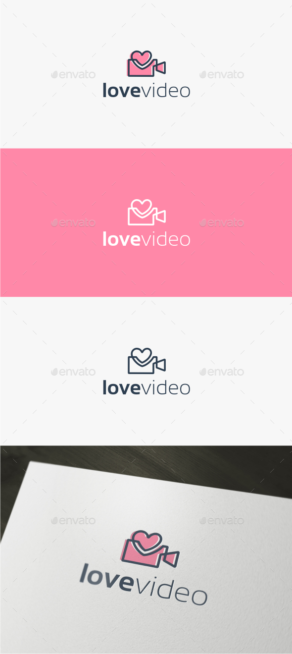Love Video - Logo Template - Objects Logo Templates