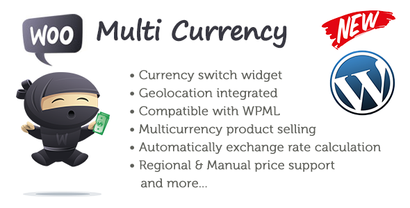 Woo Multi Currency WordPress Plugin - CodeCanyon Item for Sale