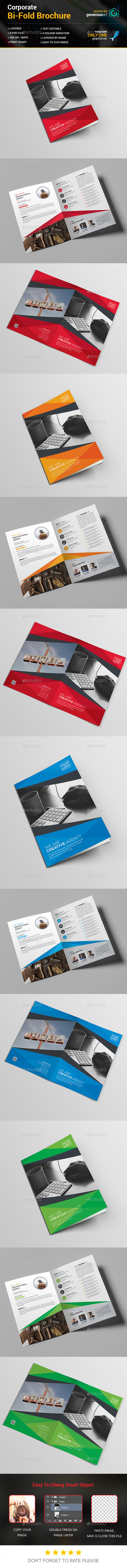Bi-Fold Business_Template - Corporate Brochures